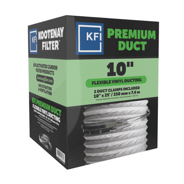 """Premium Vinyl Ducting, 10"""" x 25'"""
