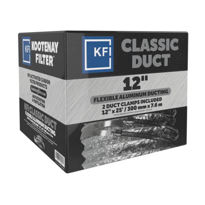 """Classic Aluminum Ducting, 12"""" x 25'"""