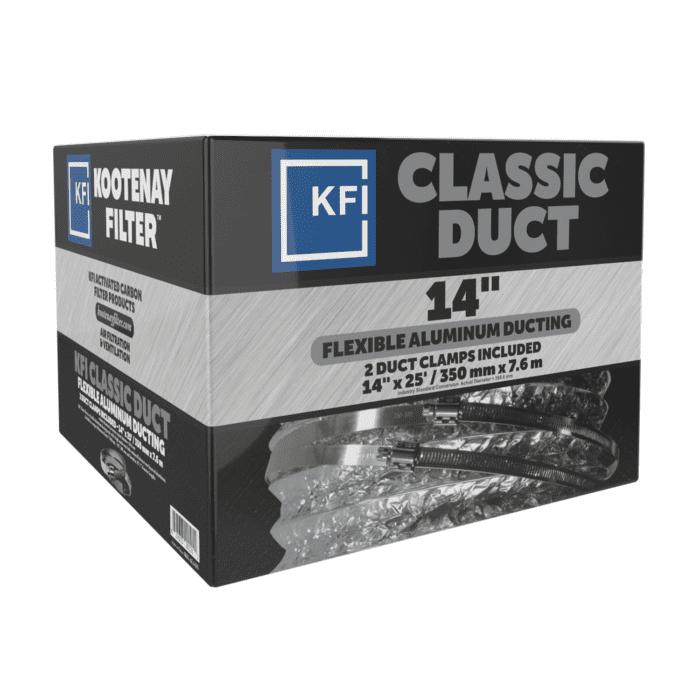 """Classic Aluminum Ducting, 14"""" x 25'"""
