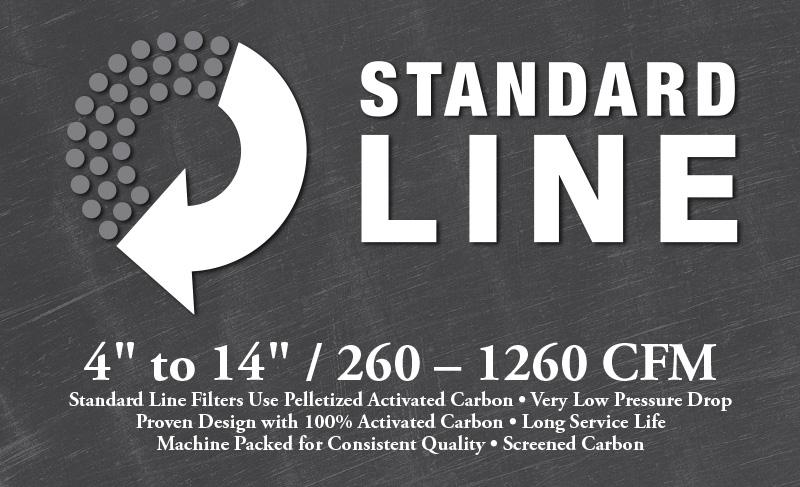 Standard Line Carbon Filters